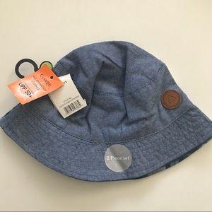 Boys hats bundle x 2 age 4-6T 50+spf